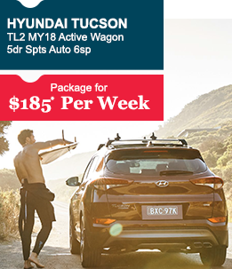 Hyundai Tucson TL2 MY18 Active Wagon 5dr Spts Auto 6sp 2WD 2.0i                                           Package for  $185